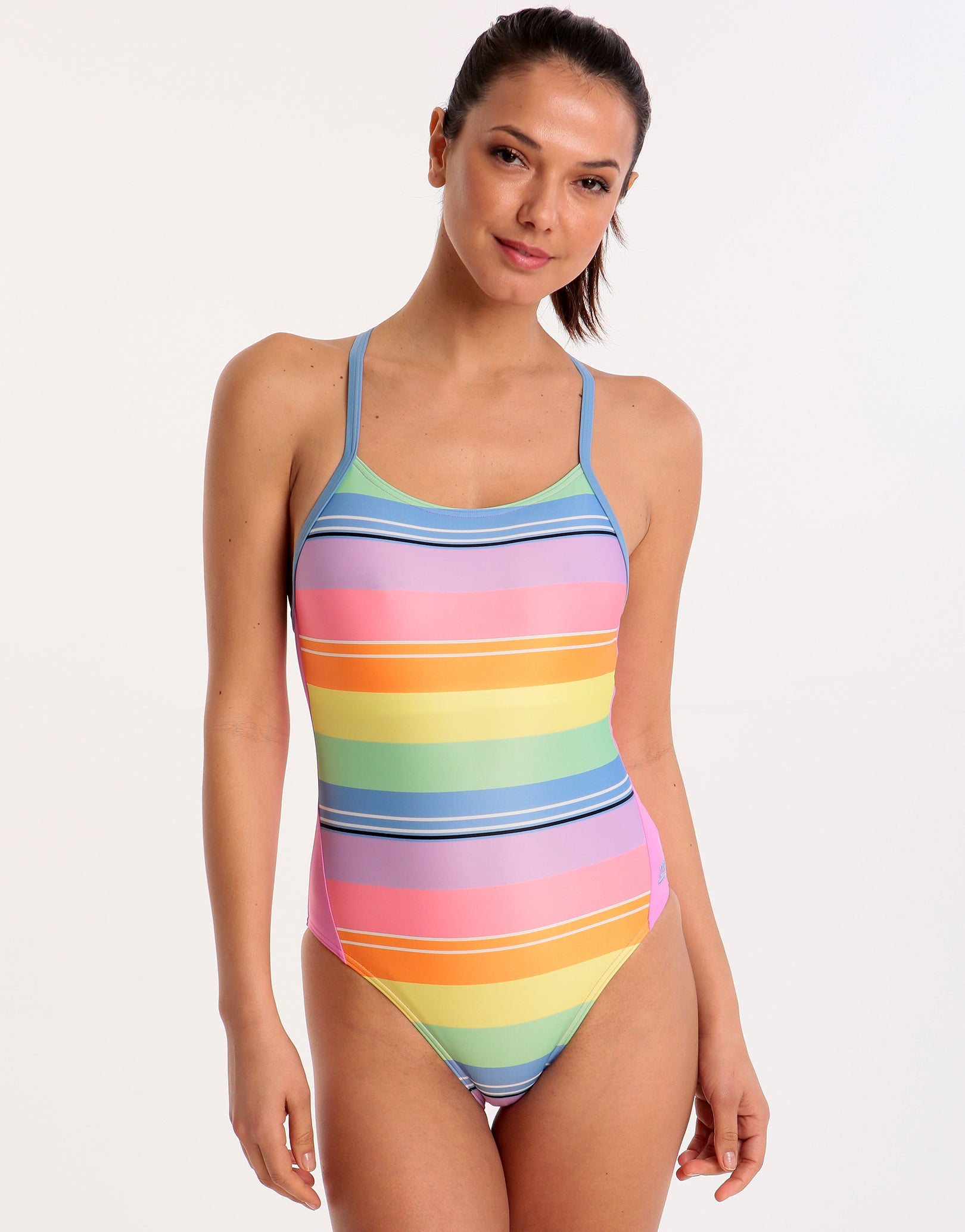 04fa2fb1375b2 Zoggs Toggs Tranquil T Back Swimsuit