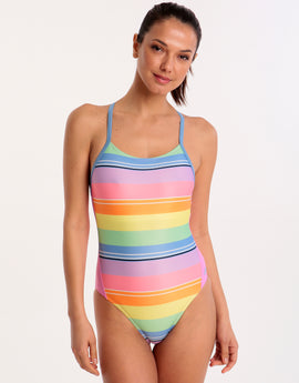 53b0a10a9b274 Zoggs Toggs Tranquil T Back Swimsuit