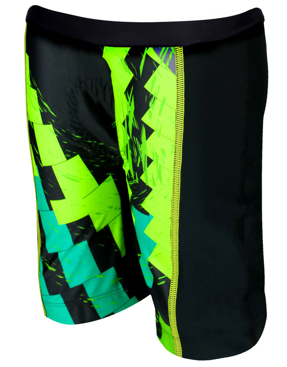Zone 3 Junior Tri Shorts - Digital Green