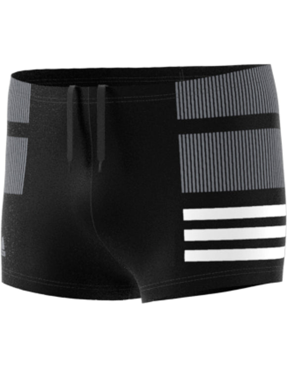 Adidas Boys 3 Stripe Colourblock Short