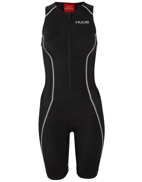 Huub Womens Essential Tri Suit - Black and Red