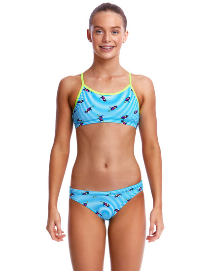 Funkita Girls Tweety Tweet Racerback Two Piece