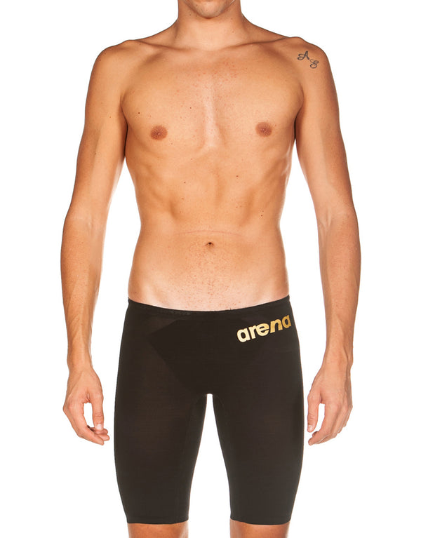 Arena Powerskin Carbon Air 2 Jammer - Black and Gold