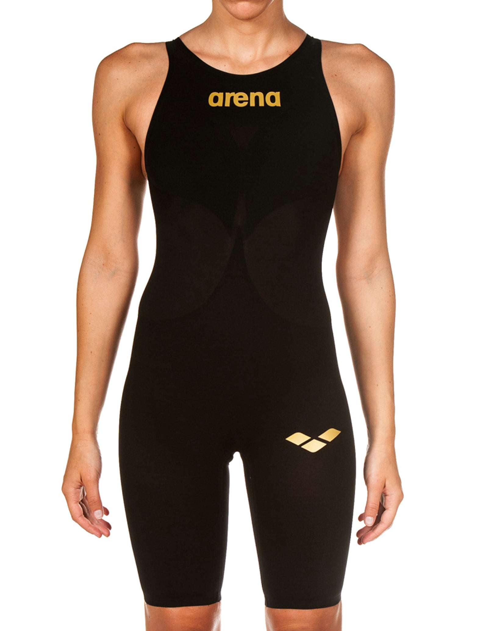 69880fc4ae Arena Powerskin Carbon Air 2 Full Body Short Leg - Black and Gold ...