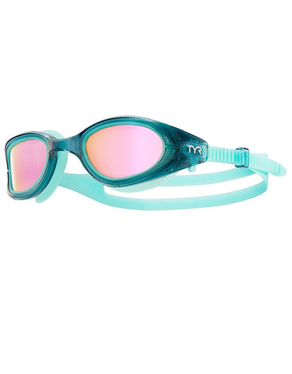 Tyr Special Ops 3.0 Femme Polarized Goggle - Pink/Grey/Mint