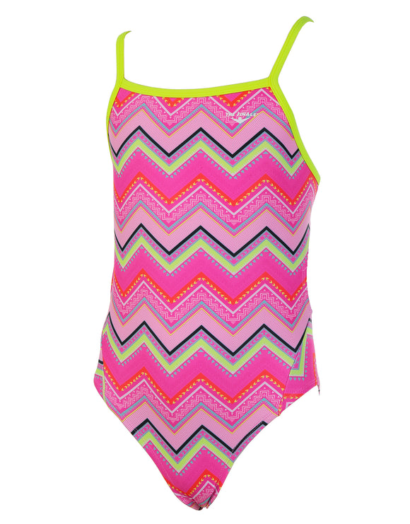 The Finals Girls Fiesta Wing Back Swimsuit