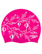 Speedo Cherry Blossom Swim Cap