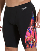 Speedo Mens Endurance Plus Vortex Swirl Jammer