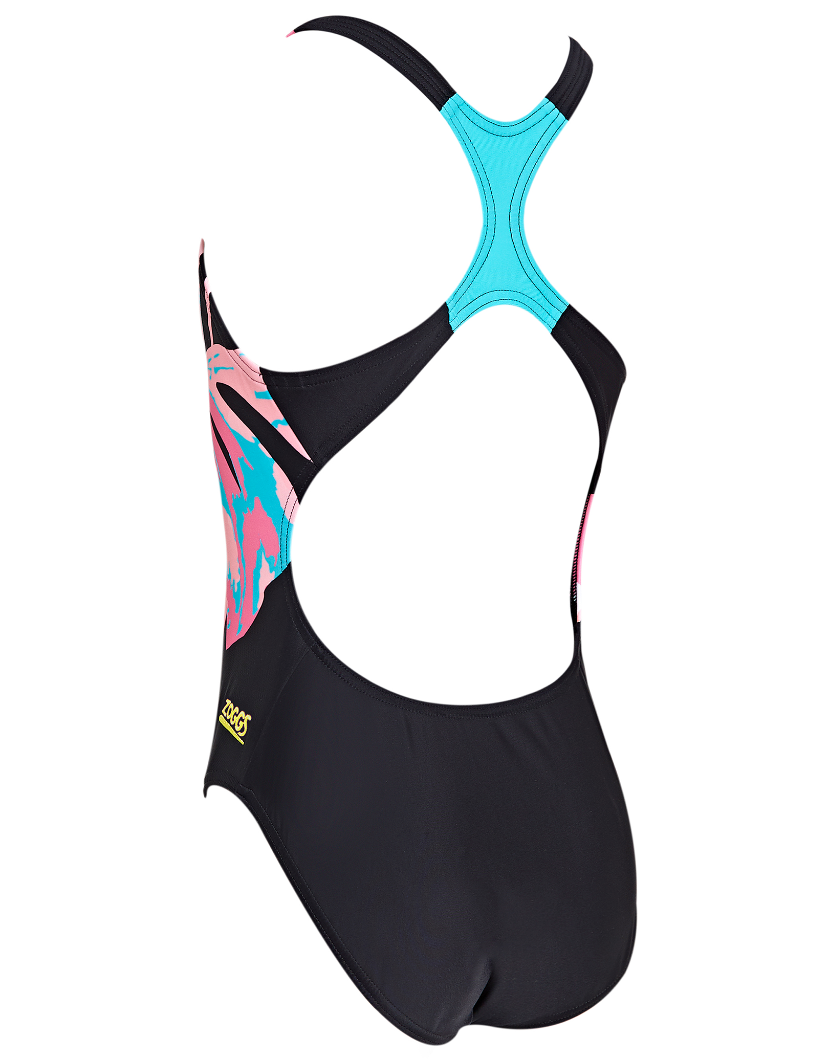 Girls Palms Rowleeback Swimsuit