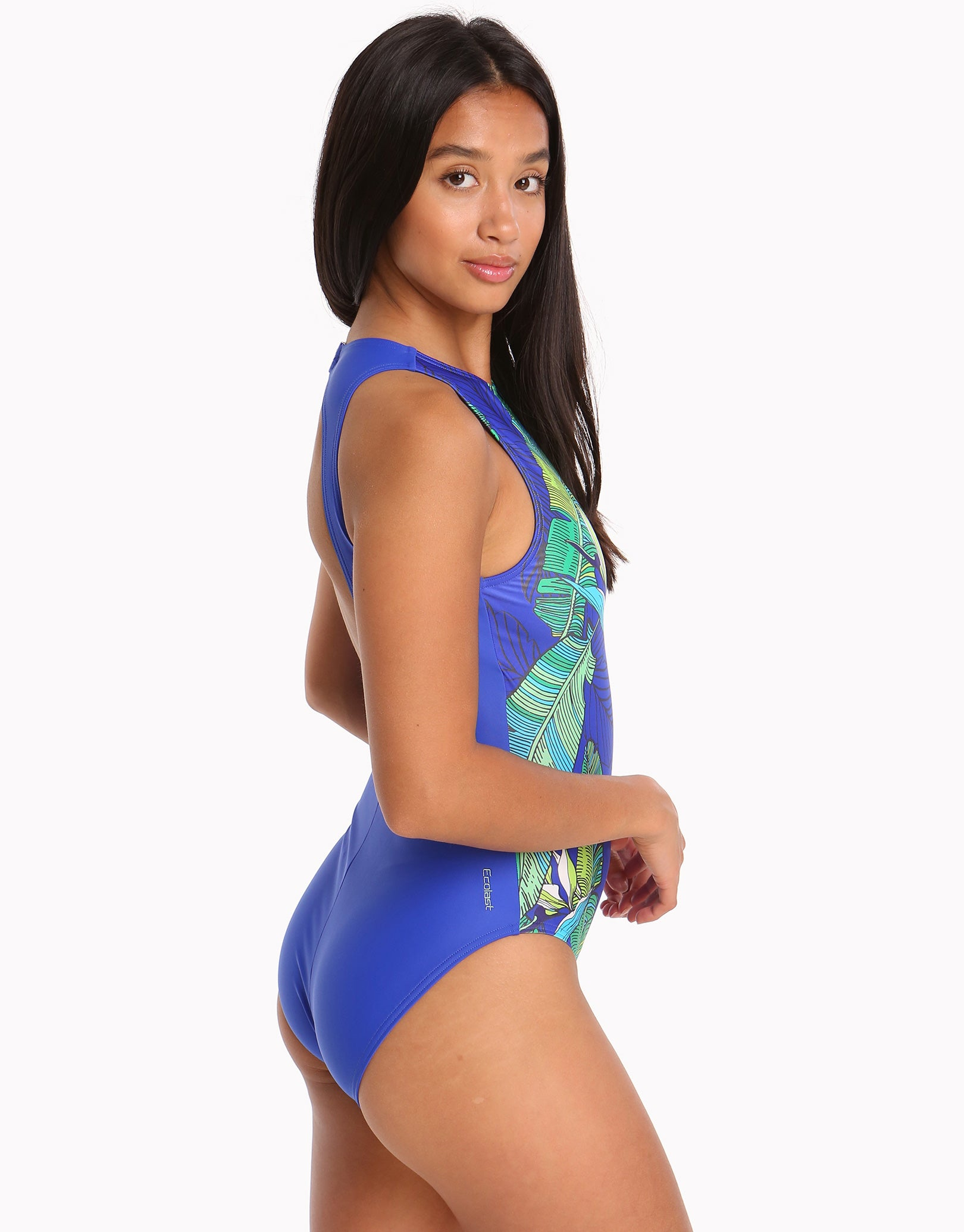 Zoggs Corsica Hi Front Swimsuit | Simply Swim UK