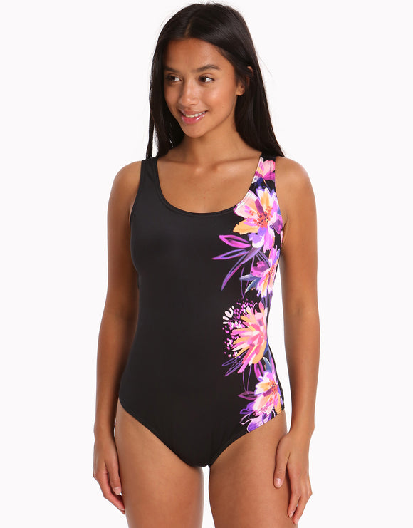 Zoggs Womens Bloomsbury Scoopback Swimsuit