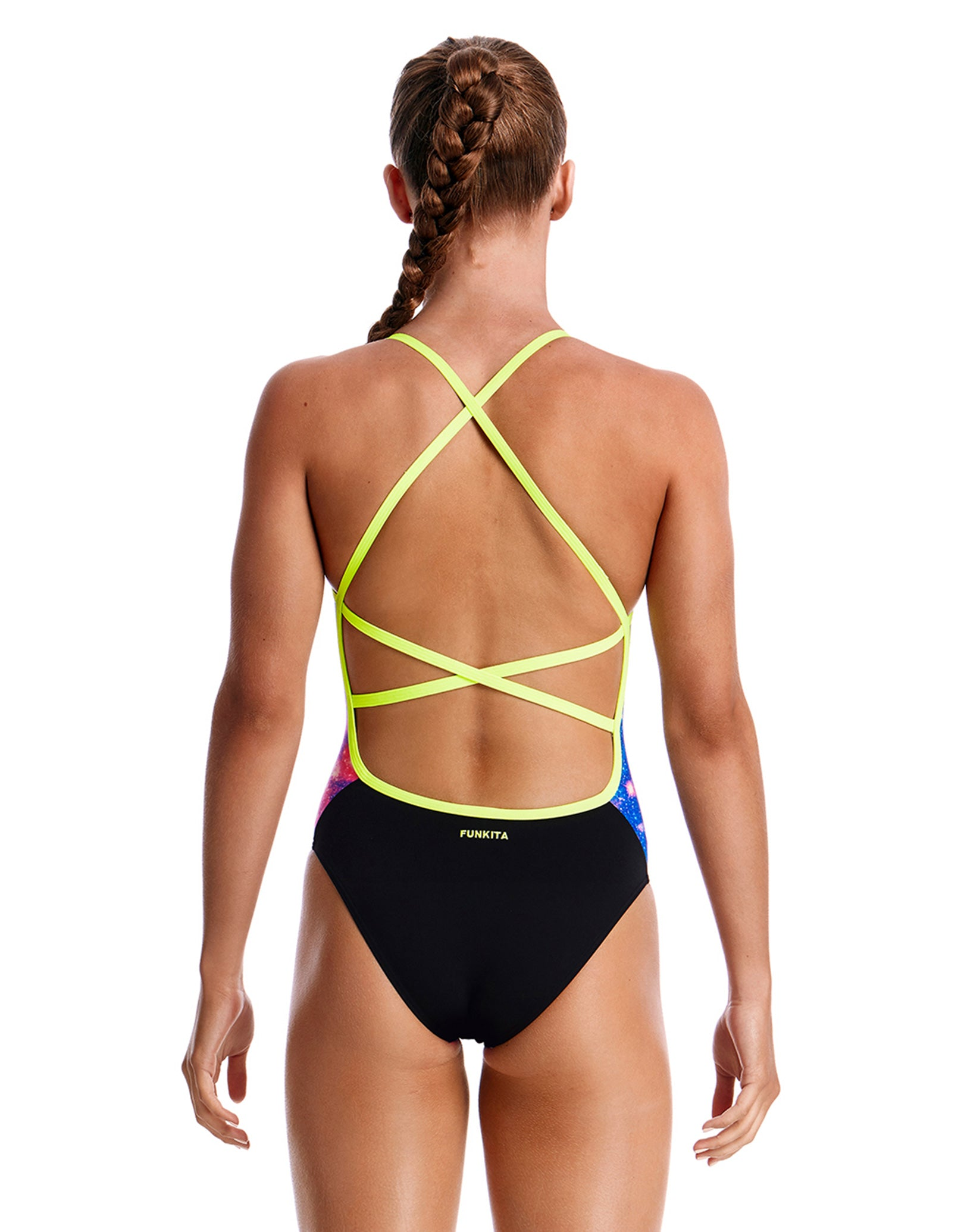 b1545db4be Funkita Girls Cosmos Strapped In Swimsuit Funkita Girls Cosmos Strapped In  Swimsuit