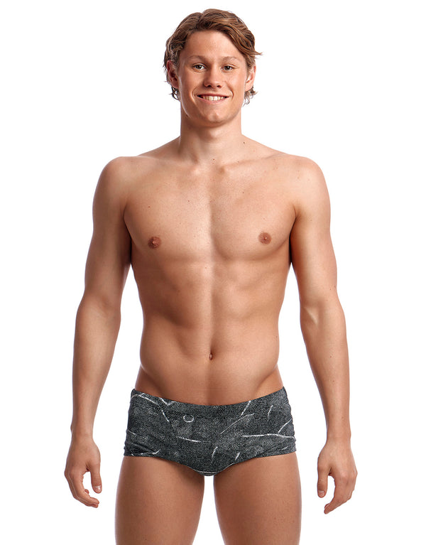 Funky Trunks Mens Crack Up Classic Swim Trunk