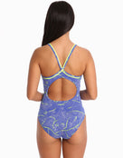 Funkita Womens Sea Salt Diamond Back Swimsuit