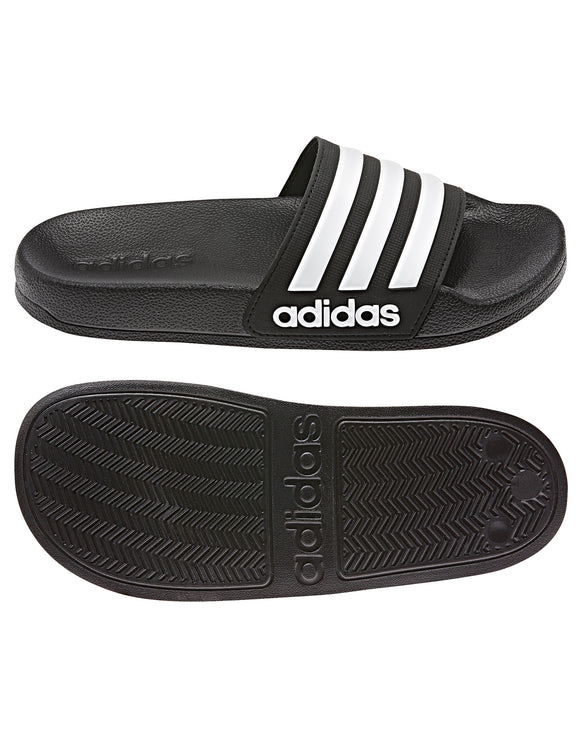 Adidas Adilette Junior Shower Slide - Core Black