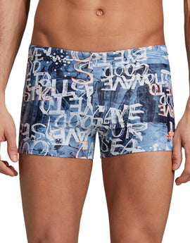 ef4e8b3978 Adidas Mens Parley Swim Trunk - Glow Blue