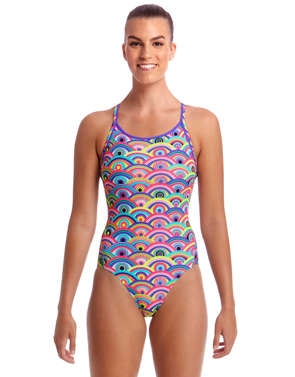 Funkita Eye Candy Diamond Back Swimsuit