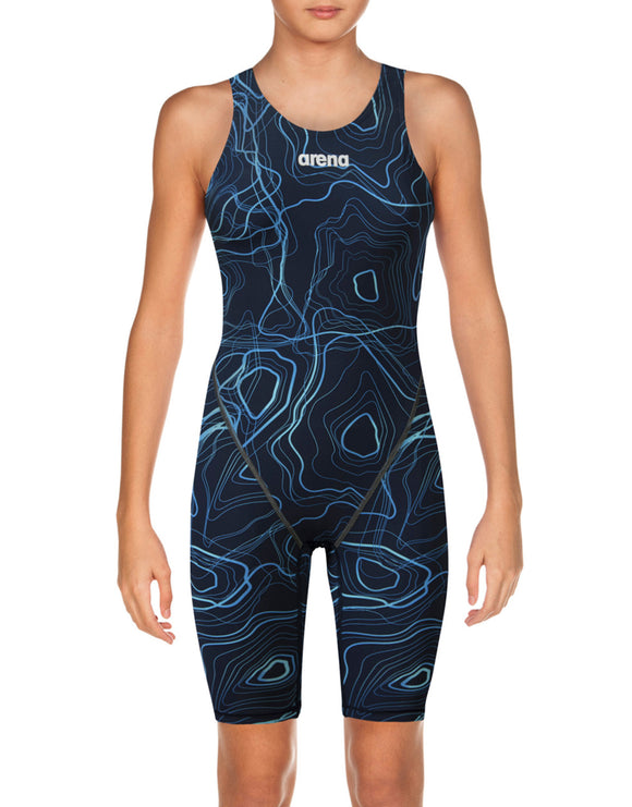 Arena Girls Ltd Edition Powerskin ST 2.0 Kneeskin - Sonic Navy