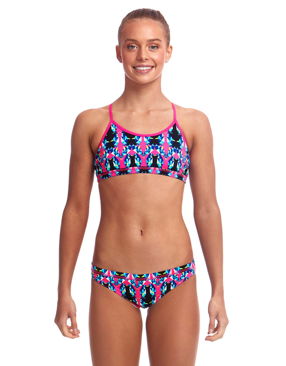 Funkita Girls Fairy Flight Eco Racerback Bikini