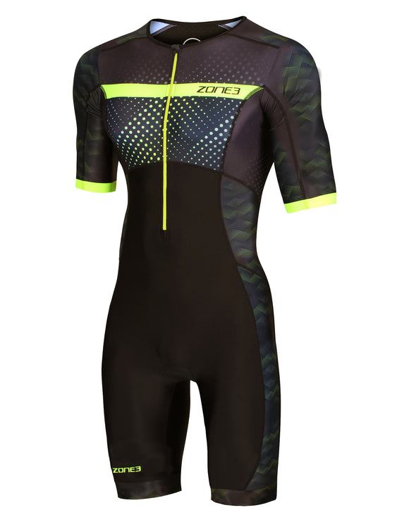 Zone 3 Mens Activate Plus Revolution SS Trisuit