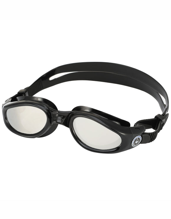 Aqua Sphere Kaiman Goggles - Mirrored Lens - Black