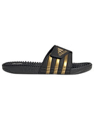 Adidas Adissage Slide - Black/Gold