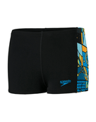 Boys Allover Panel Jammer - Black - Product