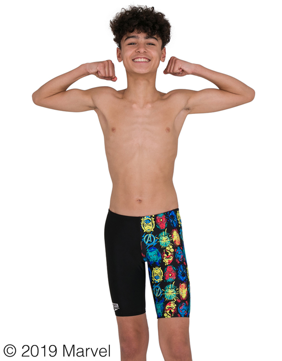 Boys Marvel Digital Jammer - Black