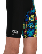 Boys Marvel Digital Jammer - Black - Close Up