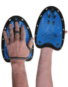 Simply Swim Hand Paddle - Black and Blue