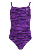 Tyr Girls Hydra Diamondfit Swimsuit - Purple