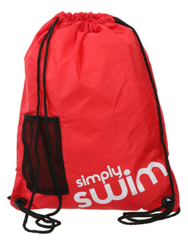 Simply Swim Deluxe Swim Bag - Red