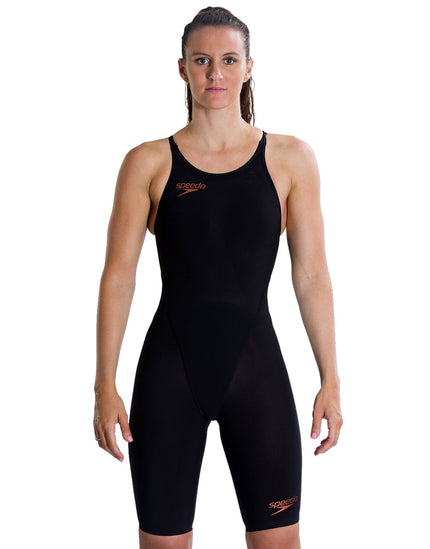 Speedo Fastskin LZR Racer Element Openback Kneeskin - Black