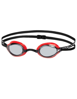 Speedo Fastskin Speedsocket 2 Goggle - Lava Red and Smoke