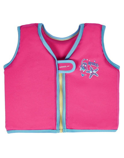 Speedo Sea Squad Float Vest - Vegas Pink