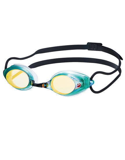 Swans SRX Mirrored Goggle - Green/Orange