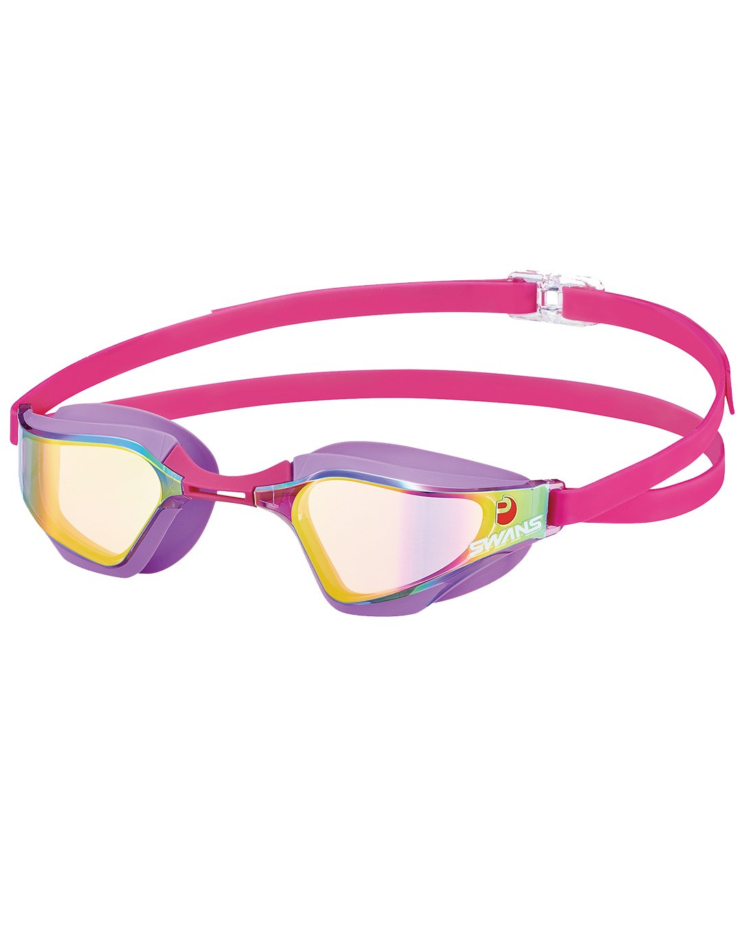 swans valkyrie mirror goggle - purple/ruby