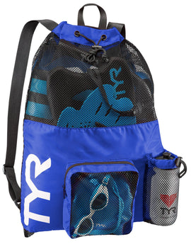Tyr Big Mesh Mummy Bag - Royal