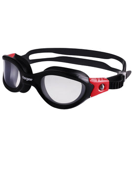 Vorgee Vortech Max Clear Goggle - Black/Red