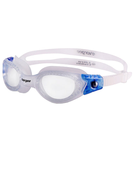 Vorgee Vortech Narrow Fit Goggle - Clear/Blue