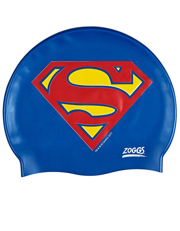 Zoggs Superman Junior Silicone Cap