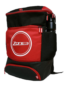 Zone 3 Transition Backpack - Black and Red
