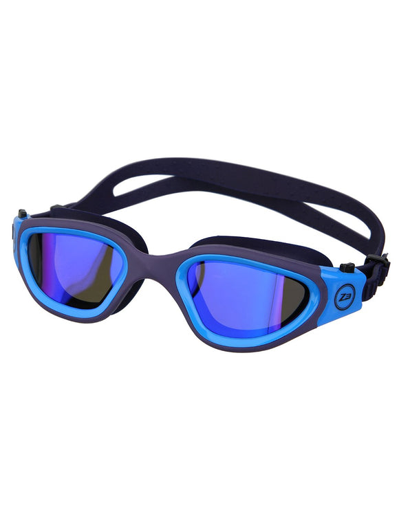 Zone 3 Vapour Goggles - Revo Navy and Blue