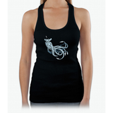 Sea Emperor Transparent Womens Tank Top