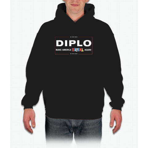 """Make America Decent Again"" Diplo Mad Decent Trump Shirt Hoodie"