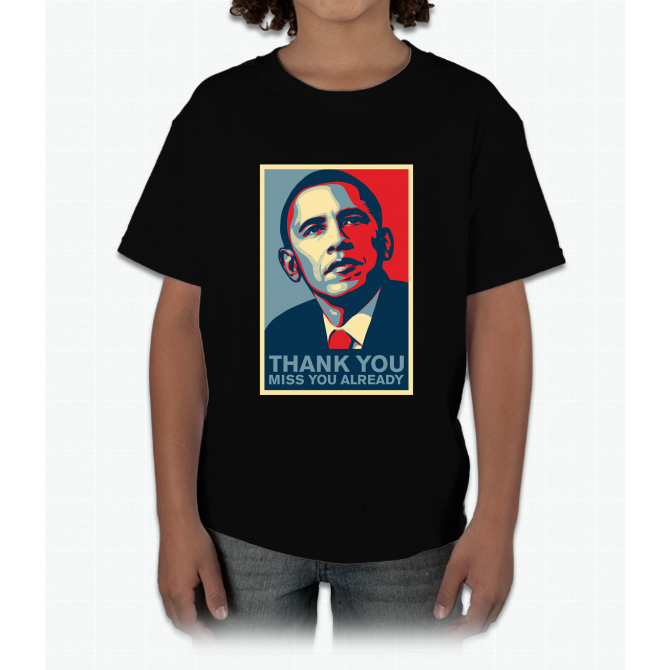 Obama - Thank You, Miss You Already Young T-Shirt