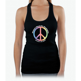 Women's March On Washington Peace Sign Womens Tank Top