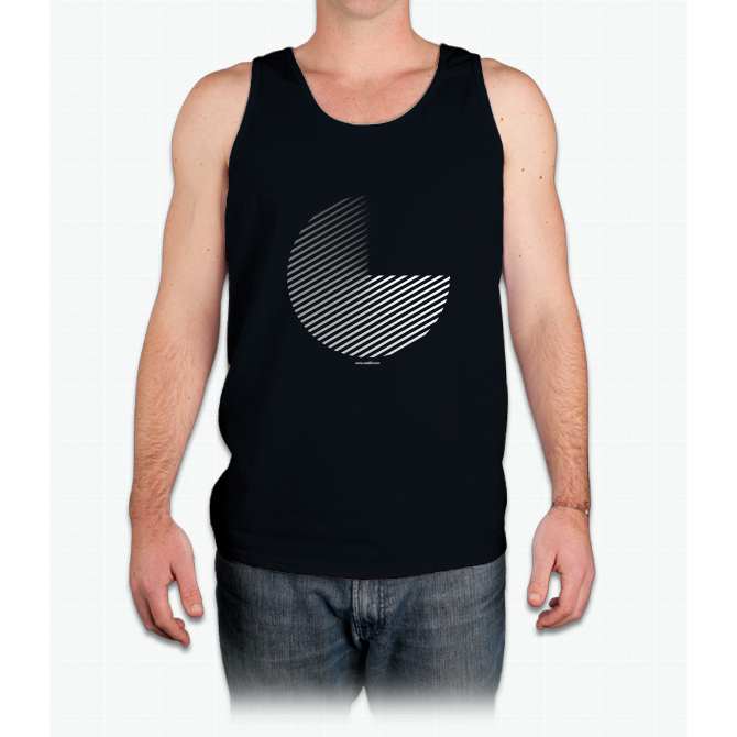 Stripes can be in a disc - Mens Tank Top