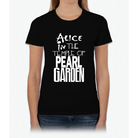 """ Alice in The Temple Of Pearl Garden"" Womens T-Shirt"