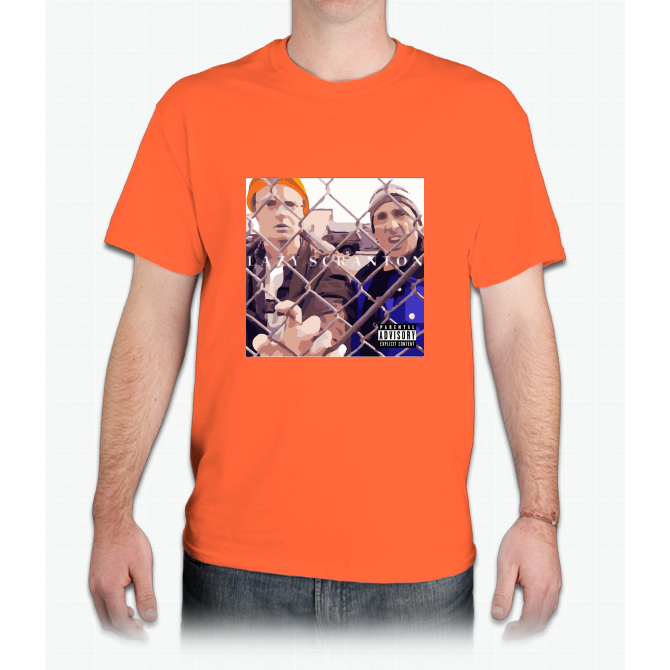 The Office: Lazy Scranton Album Shirt - Mens T-Shirt